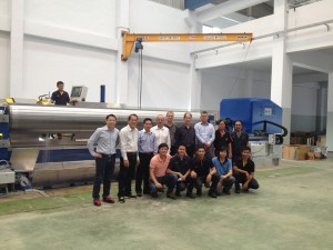 SBA Roll Grinder project successfully completed
